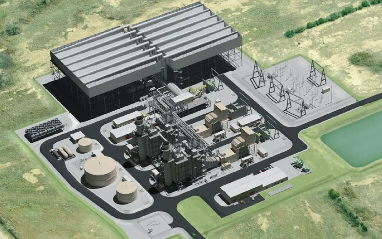 Rendering of Power Station